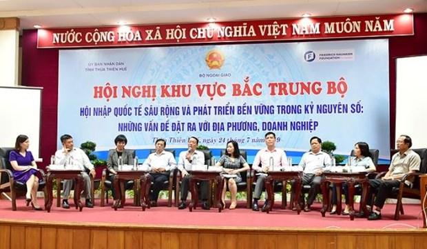 越南中部以北地区融入国际社会会议在承天顺化省举行 hinh anh 3