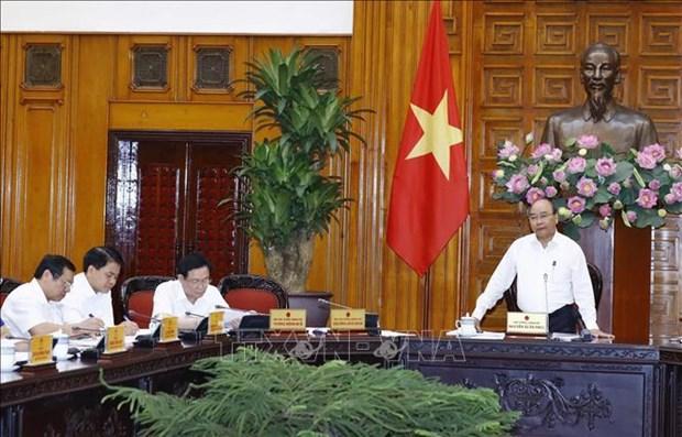 政府常务委员会召开会议 探讨基础设施项目存在的问题 hinh anh 1
