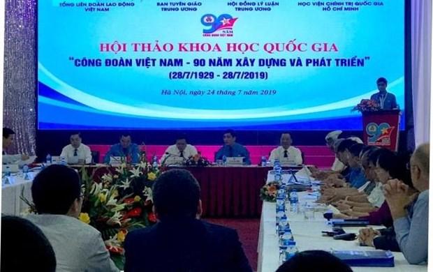 越南工会——90年建设与成长 hinh anh 1