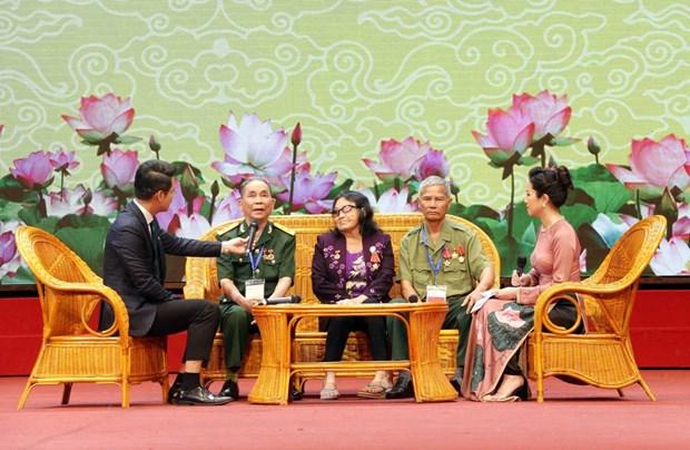 越南举行全国伤残军人先进代表表彰大会 政府总理阮春福等国家领导人出席 hinh anh 2