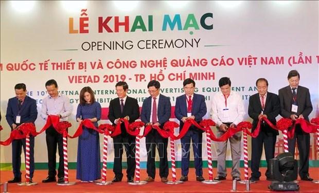 2019年越南广告技术与设备国际展览会拉开序幕 hinh anh 1