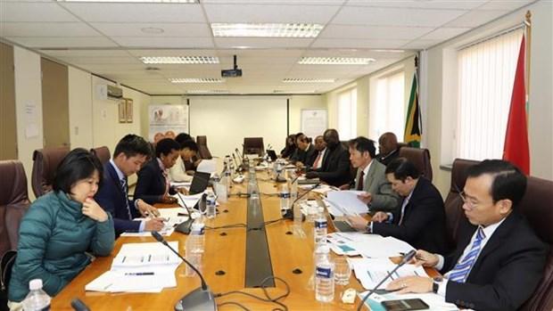 越南与南非加强医疗保险和社会保障合作 hinh anh 1