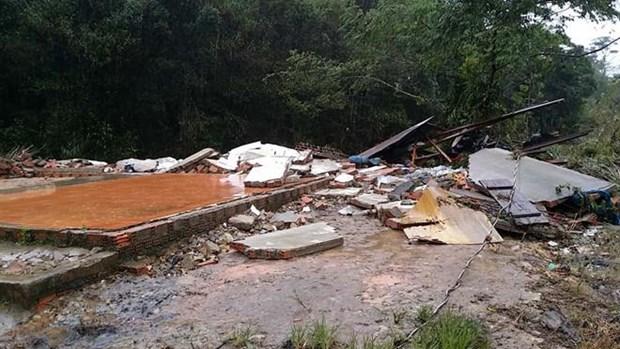 越南林同和安沛两省发生洪灾造成巨大损失 hinh anh 1
