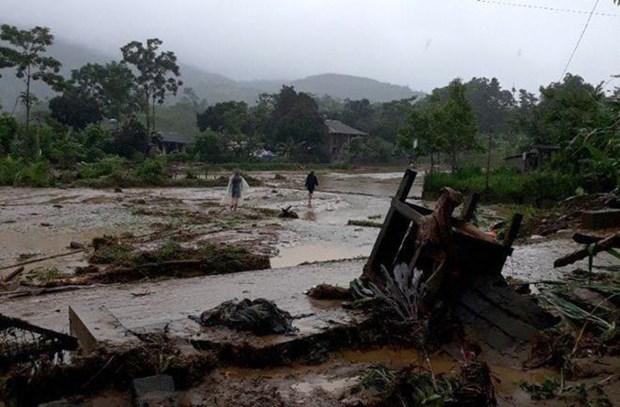 越南林同和安沛两省发生洪灾造成巨大损失 hinh anh 2