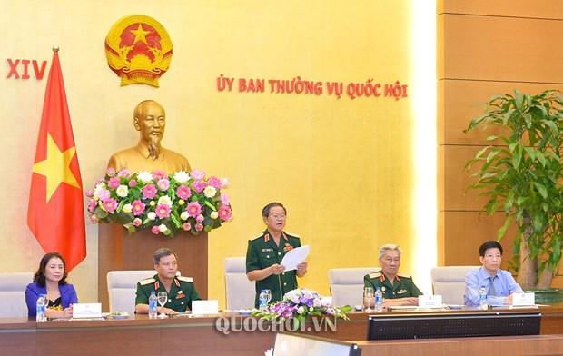 国会副主席杜伯巳会见越南英雄母亲、烈士家属和革命老战士代表团 hinh anh 2