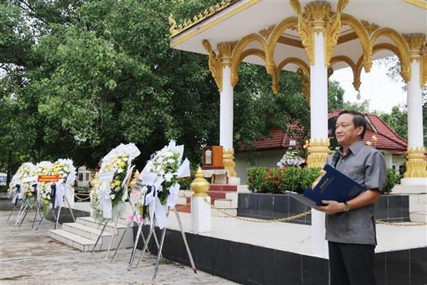 越南伤残军人和烈士日72周年纪念活动在老挝举行 hinh anh 2