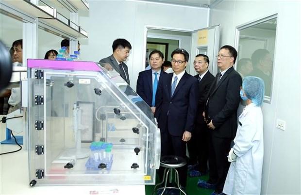 越南烈士遗骸DNA鉴定中心正式投入运作 hinh anh 2