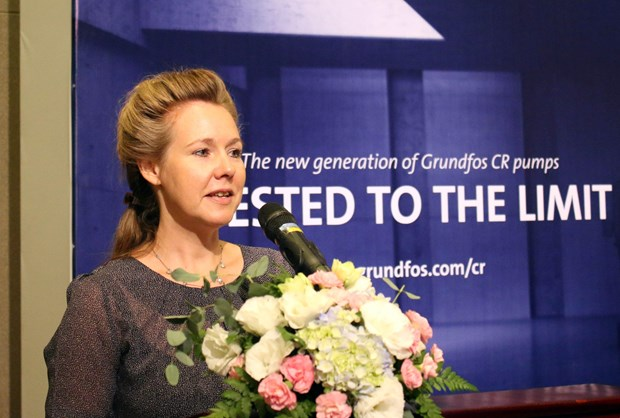 丹麦愿同越南分享应对气候变化的经验 hinh anh 1
