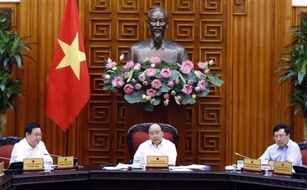 越南政府常务委员会就重点经济区的发展召开会议 hinh anh 1