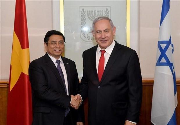 越共中央组织部部长范明正对以色列进行工作访问 hinh anh 1