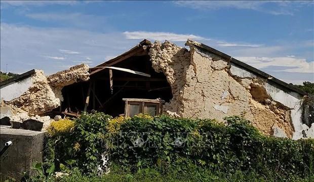 菲律宾北部两起地震致8人死亡60人受伤 hinh anh 1