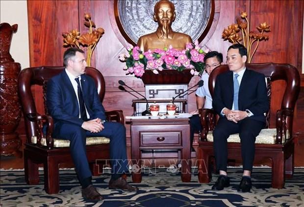 越南胡志明市与俄罗斯加强青年交流 hinh anh 1