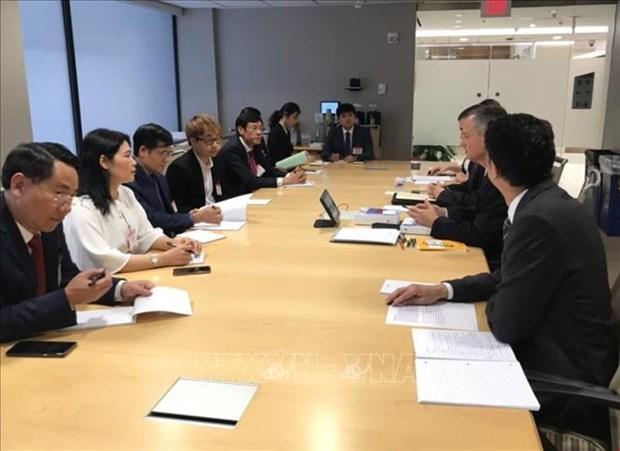 越南和美国分享审计方面的经验 hinh anh 1