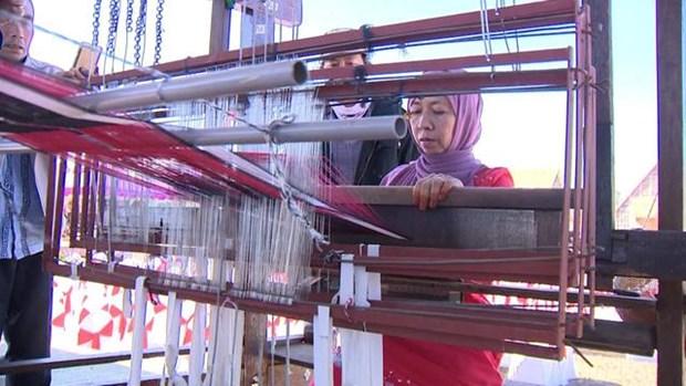 丝绸与土锦文化节在会安市举行 hinh anh 1