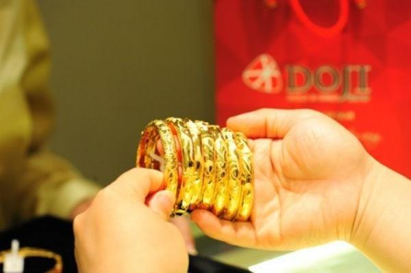 7月29日越南黄金价格超过3950万越盾 hinh anh 1