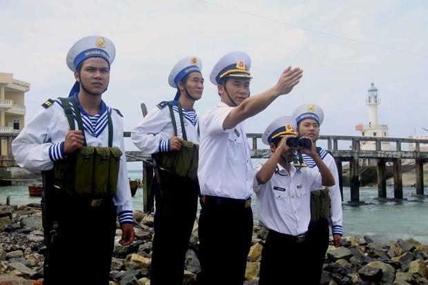 北部湾事件和越南人民海军首次对战获胜55周年:永恒不朽的英雄壮歌 hinh anh 1