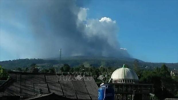 印尼万隆覆舟火山喷发 hinh anh 1