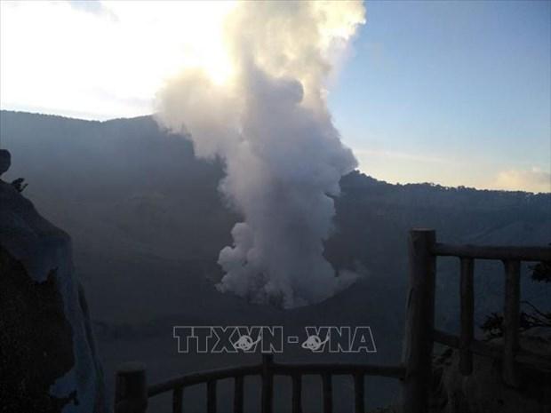 印尼万隆覆舟火山喷发 hinh anh 2