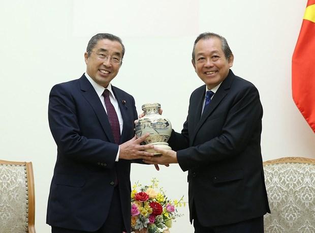 越南政府副总理张和平:加强越日纵深战略伙伴关系 hinh anh 2