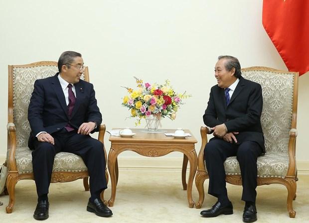 越南政府副总理张和平:加强越日纵深战略伙伴关系 hinh anh 1