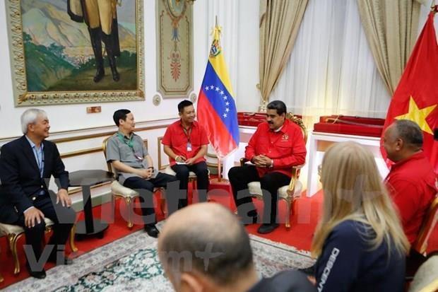 委内瑞拉高度评价越南共产党在世界进步运动中的地位和作用 hinh anh 1