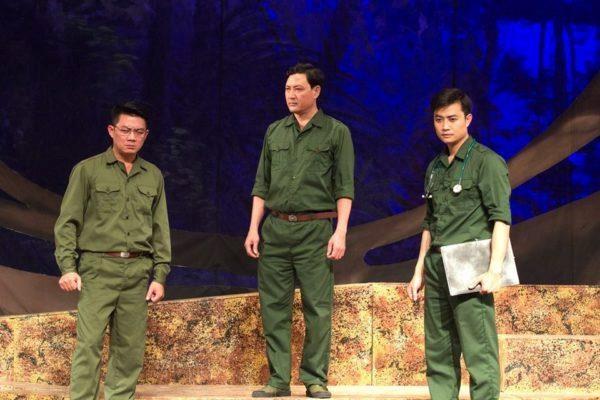 河内戏剧院剧目《双眼》参加韩国国际戏剧节 hinh anh 1