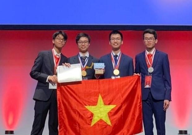 2019年国际化学奥林匹克竞赛实验试题:越南学生首次获得绝对高分 hinh anh 1