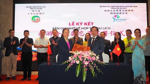 越南河内与中国四川进一步促进双边旅游合作 hinh anh 1