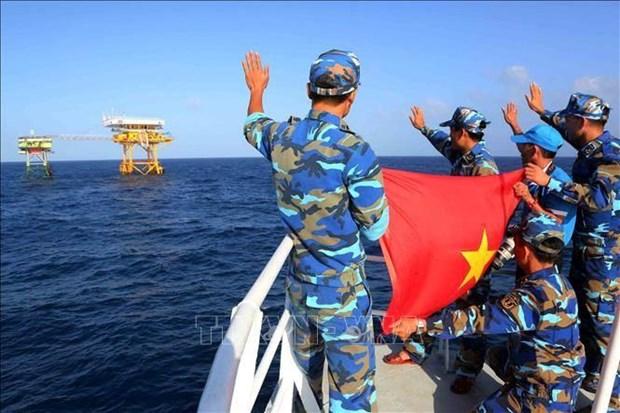 越南通过和平方式行使和捍卫国家主权的一贯政策 hinh anh 1