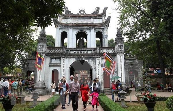 7月份河内市接待游客量增长9.5% hinh anh 2