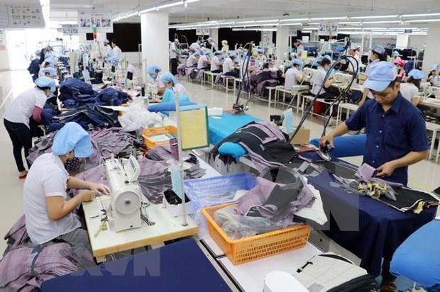 同奈省纺织品服装和鞋类出口额达超35亿美元 hinh anh 1
