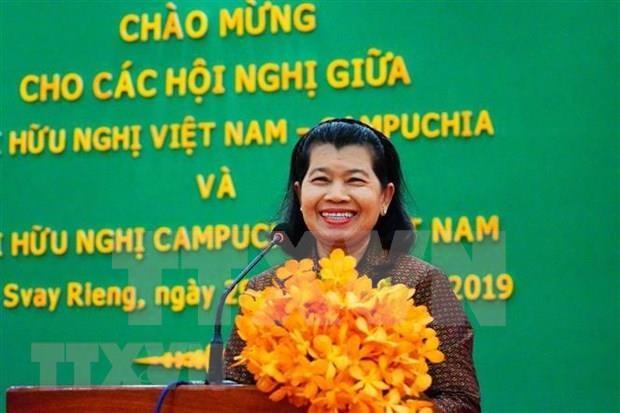 越南-柬埔寨友好协会的活动日益走向纵深 hinh anh 2
