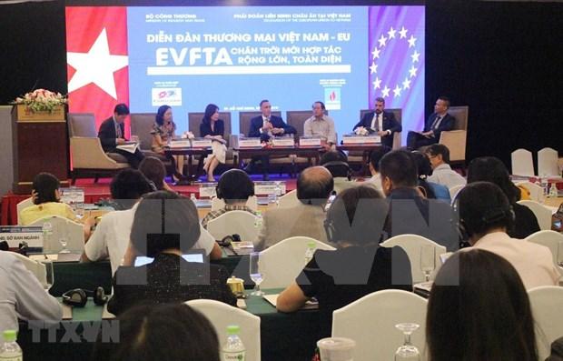 促进越南与欧盟贸易投资合作 hinh anh 1