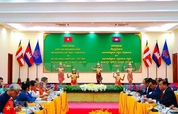 越南-柬埔寨友好协会的活动日益走向纵深 hinh anh 1