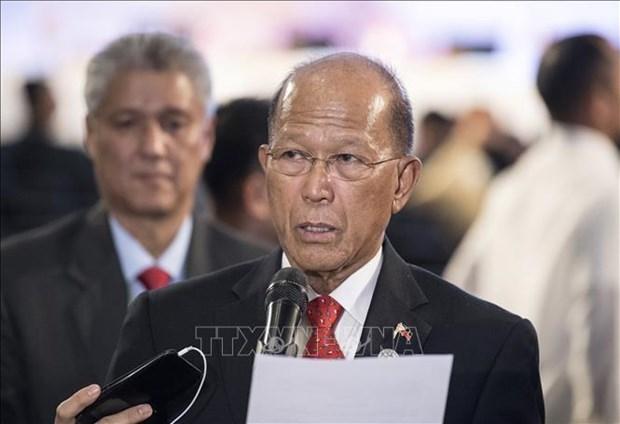 菲律宾国防部长谴责中国在东海的行径 hinh anh 1