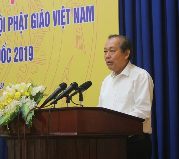 张和平副总理:越南一如既往尊重并保障宗教信仰自由 hinh anh 1