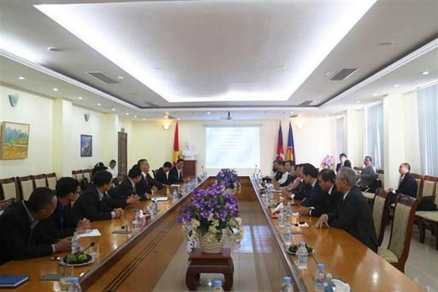 柬埔寨领导高度评价胡志明市的发展水平 hinh anh 3