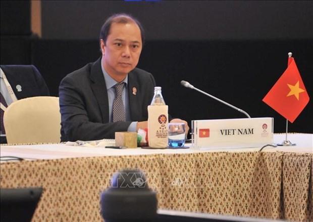 越南出席东盟与中日韩高官会及东亚峰会高官会 hinh anh 2