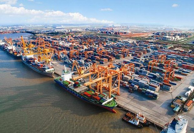 今年前7个月 越南实现贸易顺差18亿美元 hinh anh 1