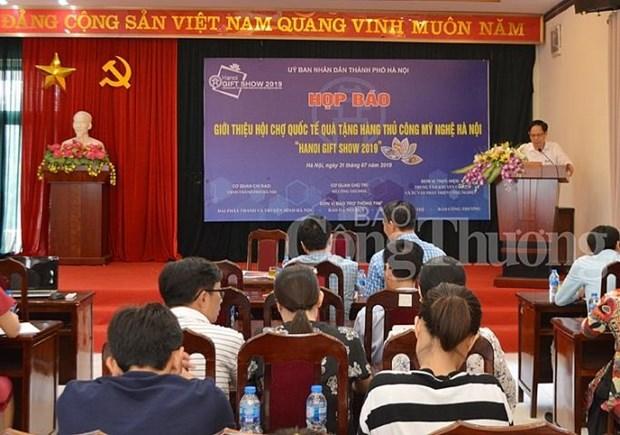 2019年河内国际手工艺品和礼品展将于10月举行 hinh anh 1