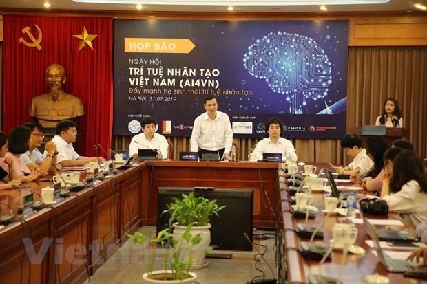 越南大力推动人工智能生态系统发展 hinh anh 1