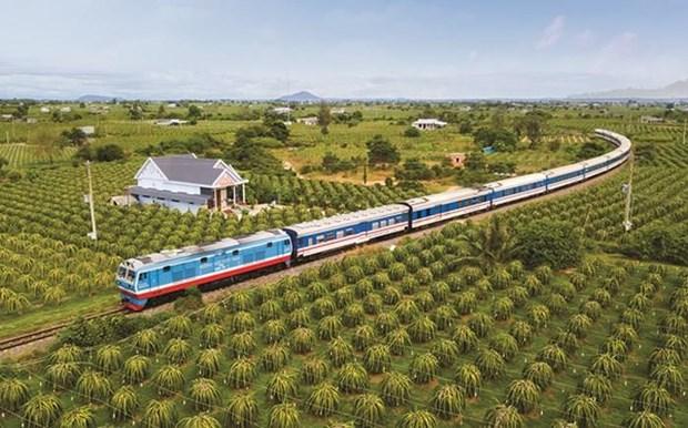 2019年上半年越南铁路货物运输量大幅下降 hinh anh 2