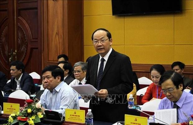 越南共产党与老挝人民革命党第七次理论研讨会落下帷幕 hinh anh 2