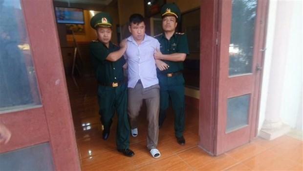老街省边防部队成功破获跨省贩毒团伙 缴获近10公斤冰毒 hinh anh 2