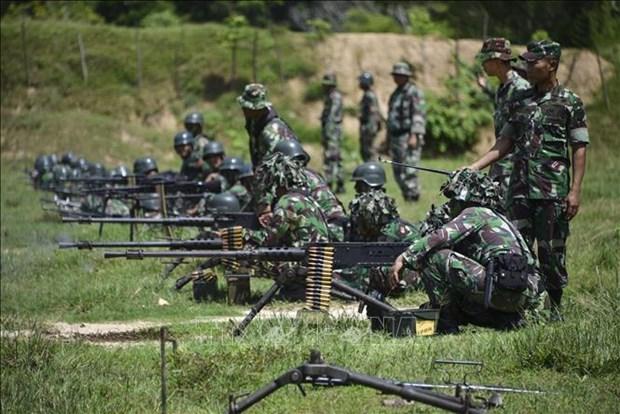 印度尼西亚成立反恐精英部队 hinh anh 1
