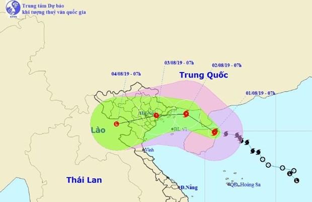 第三号台风防范工作:派工作组赴各重要地方指导防台风工作 hinh anh 1