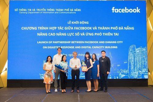 岘港市与脸书合作提高应对自然灾害能力 hinh anh 1