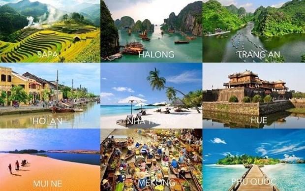 越南力争进入东南亚地区一流旅游发展国家名录 hinh anh 1