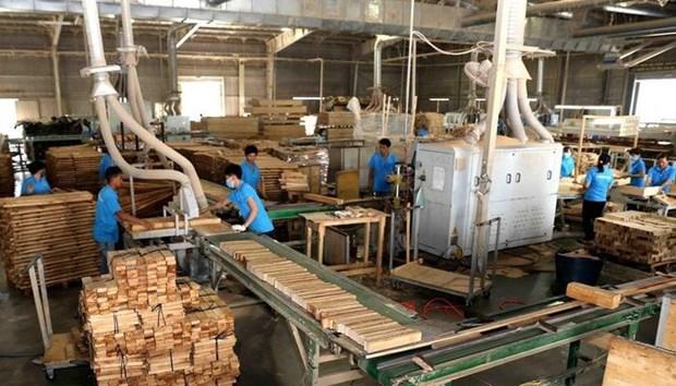 今年前七个月越南林产品出口实现贸易顺差近46亿美元 hinh anh 1