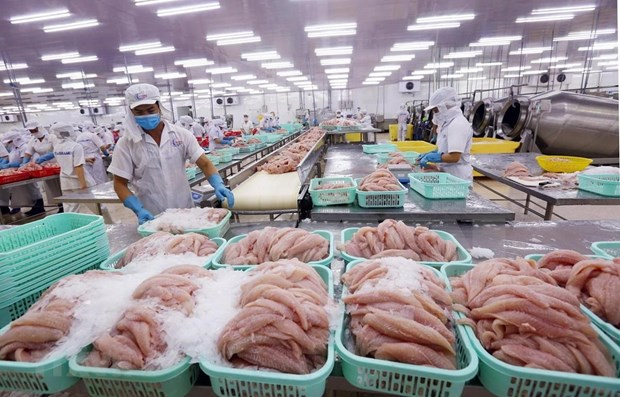今年前7月越南农林水产品增长2% hinh anh 1